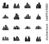 city  town  building icon set....   Shutterstock .eps vector #1689519880