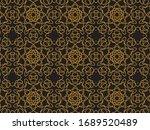 pattern  gold  design  abstract ...   Shutterstock .eps vector #1689520489
