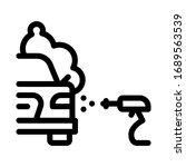 car wash icon vector. car wash... | Shutterstock .eps vector #1689563539