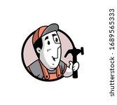 vector illustration of a retro... | Shutterstock .eps vector #1689565333