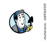 vector illustration of a retro... | Shutterstock .eps vector #1689565549