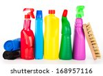 cleaning equipment isolated on... | Shutterstock . vector #168957116