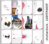creative brochure templates... | Shutterstock .eps vector #1689596839