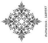 ornamental design  digital... | Shutterstock . vector #1689597