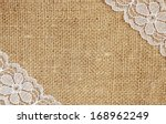 canvas background with white... | Shutterstock . vector #168962249