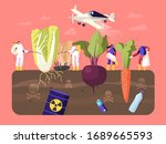pest control workers characters ... | Shutterstock .eps vector #1689665593