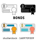 bonds icon in different style...