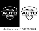abstract car logo sign symbol... | Shutterstock .eps vector #1689738073