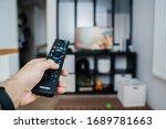 The Tv Remote Control In The...