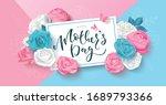 happy mother's day postcard... | Shutterstock .eps vector #1689793366