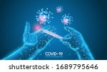 coronavirus. world pandemic.... | Shutterstock .eps vector #1689795646