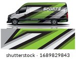 sports car wrapping decal design | Shutterstock .eps vector #1689829843