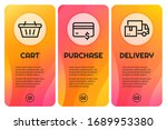 internet marketing banners with ...   Shutterstock .eps vector #1689953380