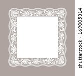 template frame  design for card.... | Shutterstock .eps vector #169005314