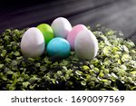 Easter Eggs Composition  Close...