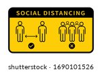 Social Distancing. Keep The 1 ...
