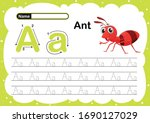 Colorful Letter A Uppercase An...