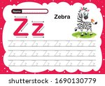Colorful Letter Z Uppercase An...