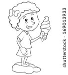 Coloring Page   Child Having...