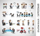 avatar,boss,business,businessman,cartoon,chair,chart,concept,corporate,crowd,designer,desk,document,dream,element