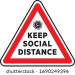 Social Distancing Signage Or...