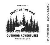 Journey Into The Wild. Badge  T ...