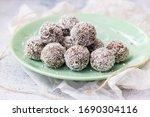 Sweet Chocolate Vegan Truffles. ...