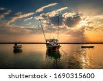 Fishing Boats In Dammam Sea...