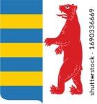 coat of arms of ukrainian... | Shutterstock .eps vector #1690336669