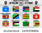 set of realistic official world ... | Shutterstock .eps vector #1690358806