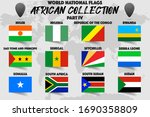 set of realistic official world ... | Shutterstock .eps vector #1690358809