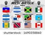 set of realistic official world ... | Shutterstock .eps vector #1690358860