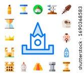 modern simple set of history...   Shutterstock .eps vector #1690368583