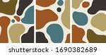 minimalist organic shapes...   Shutterstock .eps vector #1690382689