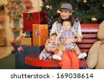 child and family gift | Shutterstock . vector #169038614