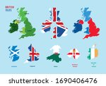 collection set of united... | Shutterstock .eps vector #1690406476