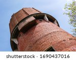 detail of old abandoned ruined... | Shutterstock . vector #1690437016