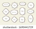 collection set of vintage... | Shutterstock .eps vector #1690441729