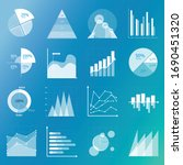 business data market elements...   Shutterstock .eps vector #1690451320