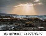 Stormy Atlantic Ocean At...