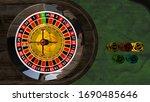 it is realistik 3d design poker ...   Shutterstock . vector #1690485646