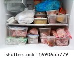 Plastic Bags And Container Wit...