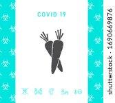 carrots symbol icon. graphic...   Shutterstock .eps vector #1690669876