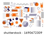 memphis graphic retro graphic ... | Shutterstock .eps vector #1690672309