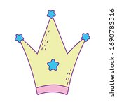 crown design  royal king queen... | Shutterstock .eps vector #1690783516