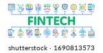 fintech innovation minimal...   Shutterstock .eps vector #1690813573