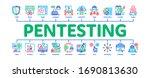 pentesting software minimal...   Shutterstock .eps vector #1690813630