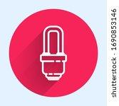 white line led light bulb icon...   Shutterstock .eps vector #1690853146