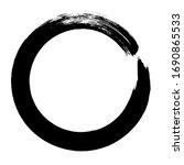 circle ink brush stroke ...   Shutterstock .eps vector #1690865533