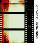 film strip background  texture   Shutterstock . vector #169092614